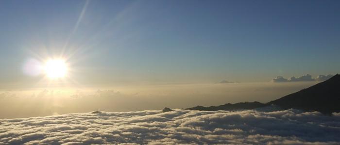 Sonnenaufgang- Vulkan Gunung Batur
