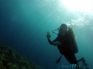 Tauchen auf Bali - USAT Liberty