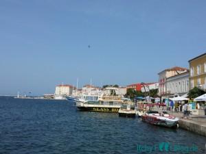 Porec - Altstadt - Hafen