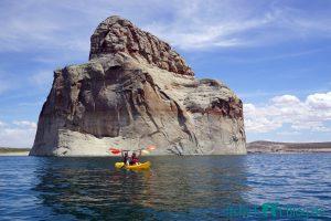 Lone Rock, Lake Powell