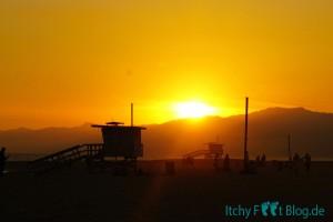 Venice Beach - Sonnenuntergang
