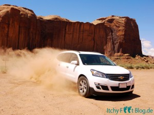 Monument Valley - Unser SUV