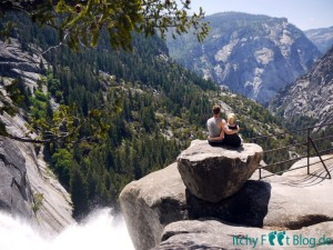 Yosemite Nationalpark - Nevada Fall