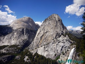 Yosemite National Park - Half Dome / Liberty Cab / Nevada Fall