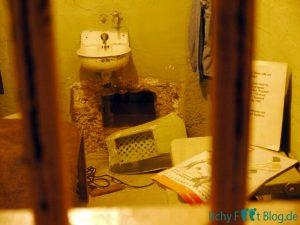 Gefängniszelle - Ausbruch der Brüder Anglin und Frank Morris