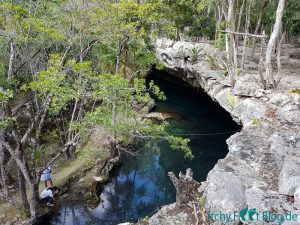 Mexiko Cenote 2. Eingang Little Brother